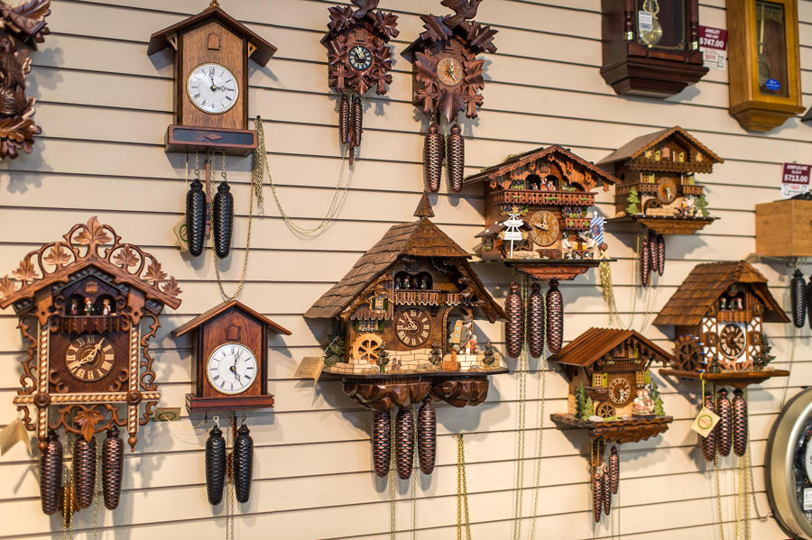 German Cuckoo Clocks - Time Square Clock Shop - Clifton Park, NY